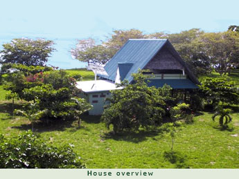 View of house towards the ocean